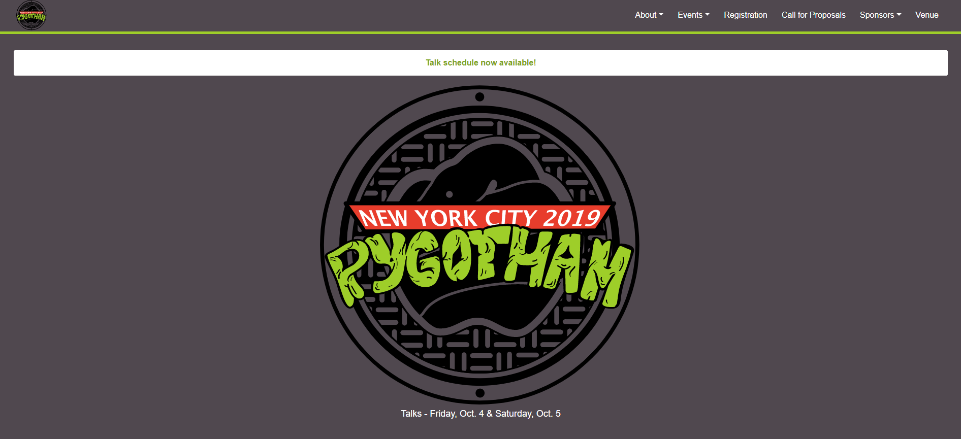 Vinta Software: PyGotham 2019: Talking Python in NY!